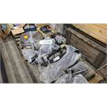 LOT/ SAW BLADES, MANUAL JACKS AND TRAILER HITCHES