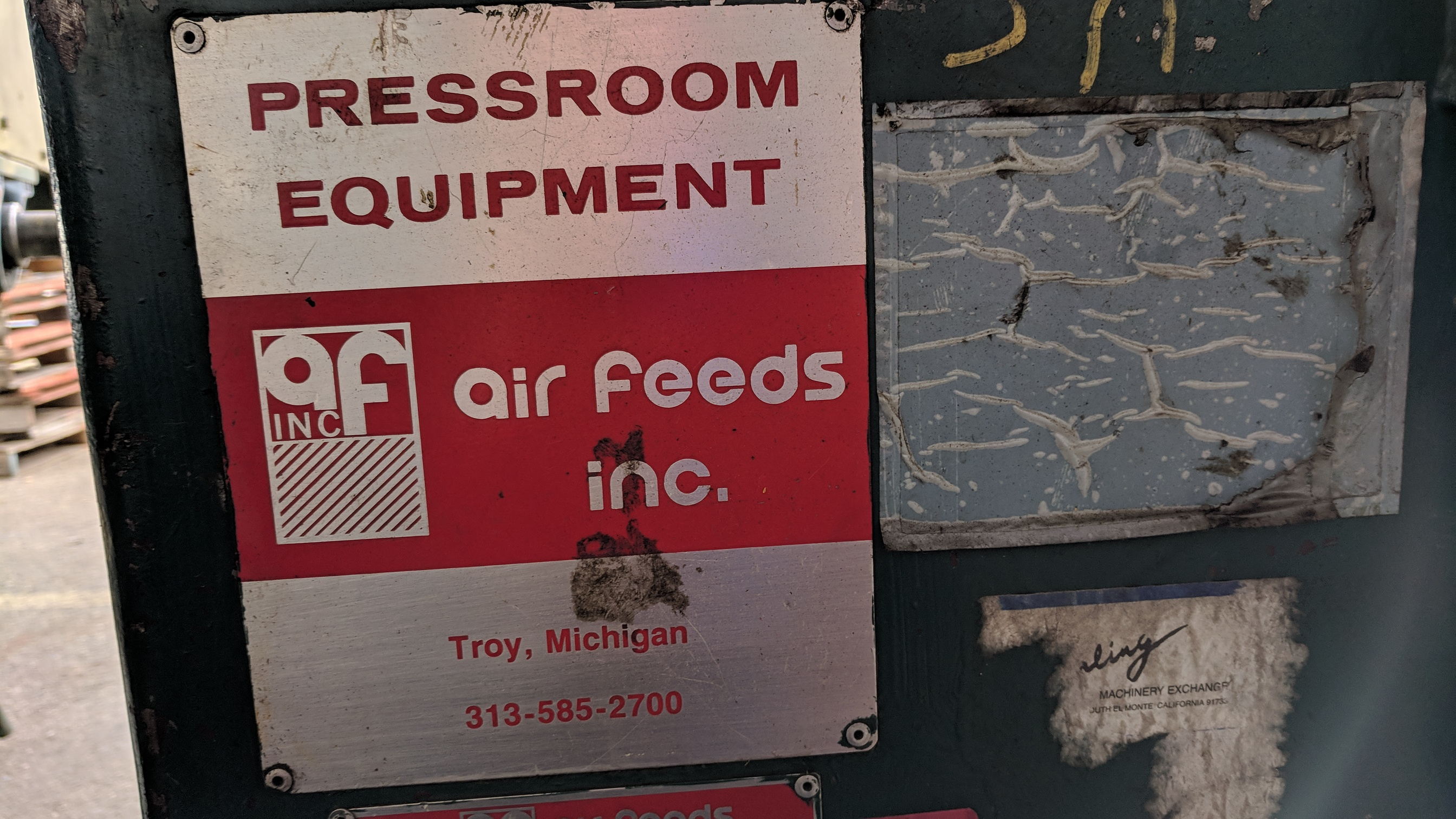"AIR FEEDS INC R25 18"" CAPACITY UNCOILER, S/N 901016 (CI) - Image 2 of 5"