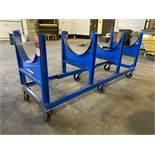 Vestil DCC-2896-4 Heavy Duty Cradle Cart, 4000 LB Capacity