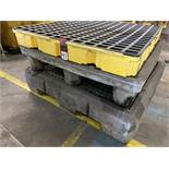 Lot of (3) Oil Spill Containment Platforms