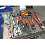 Assorted Crimpers & Bolt Cutters