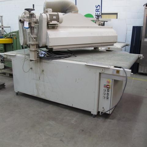 Lot 133 - * A Borstelfabrik SS Cosma Table Flatting Machine Type 1300 ...