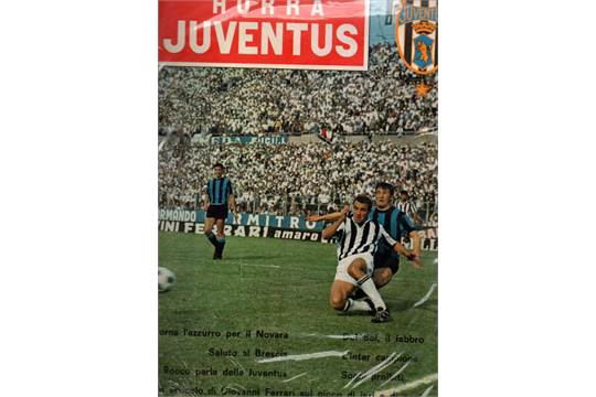 fairs cup final football programme juventus versus ferencvaros 1965 hurra juventus 1 good the saleroom