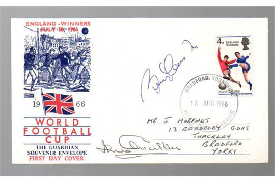 Football First Day Cover England World Cup  Winners First Day Cover Dated Th August  S