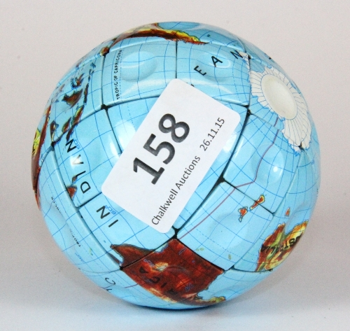 Lot 158 - A vintage 1980s Hungarian globe version of the Rubik's cube.