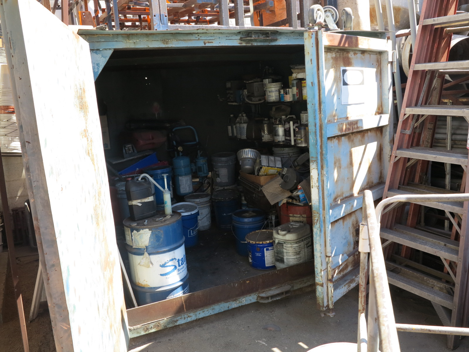Lot 21 - 8' X 8' X 6' STORAGE CONTAINER