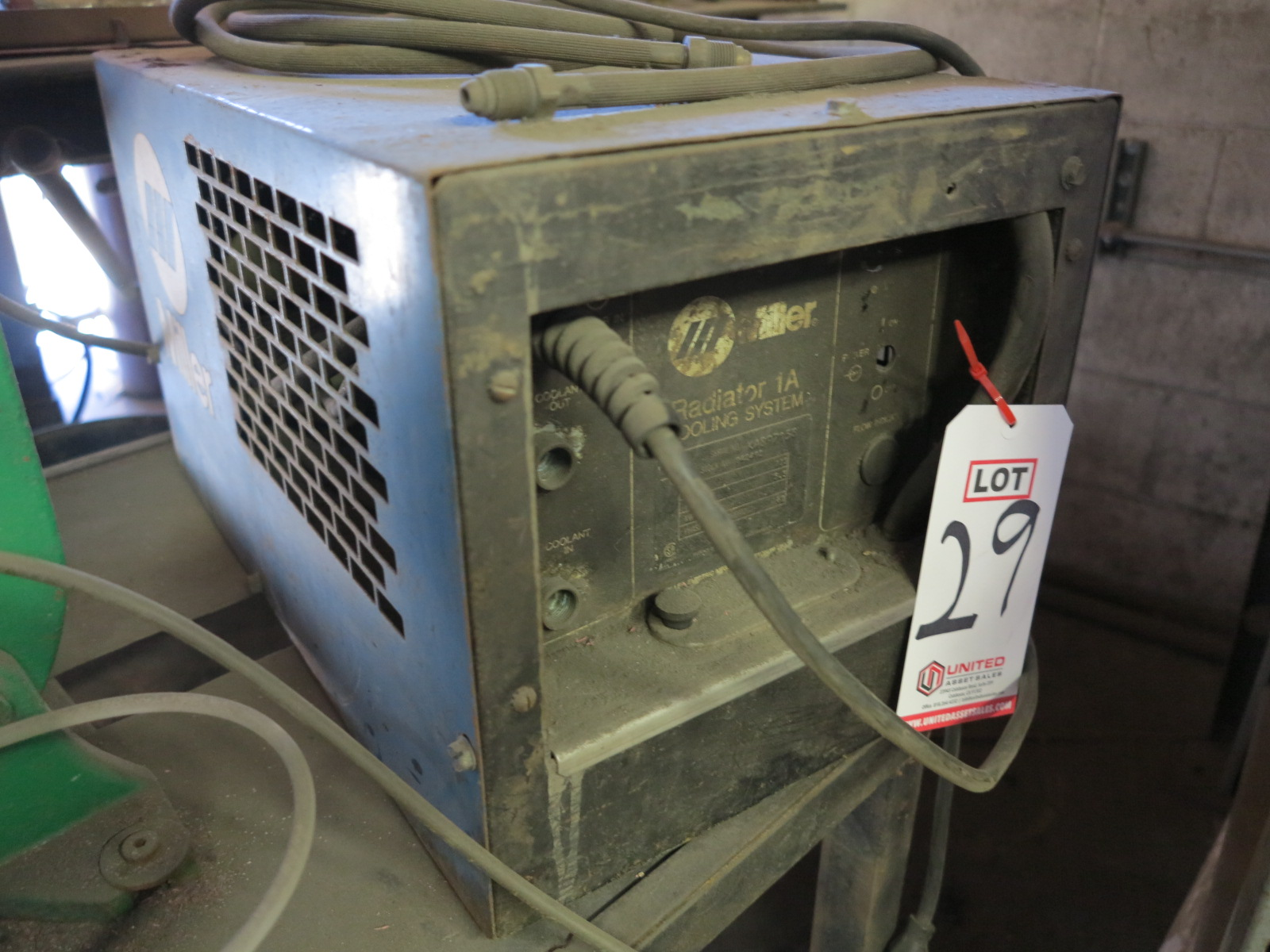 Lot 29 - MILLER RADIATOR 1A COOLING SYSTEM
