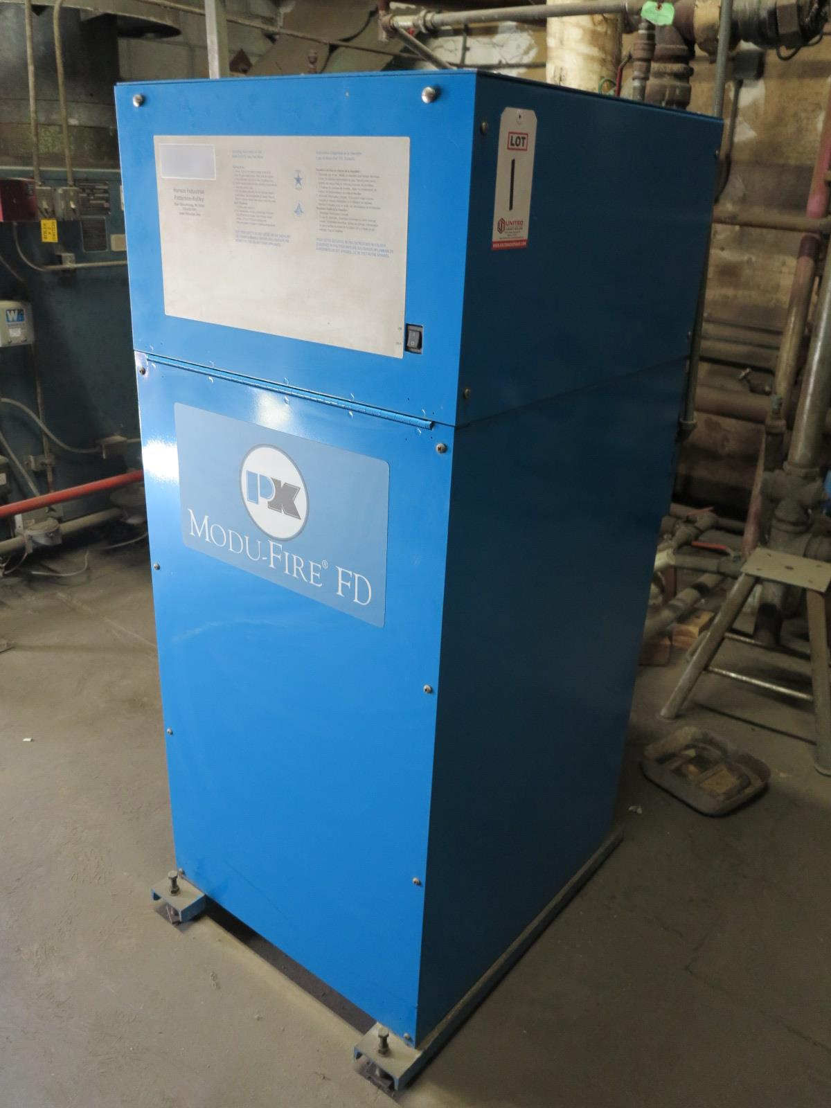 Lot 1 - PATTERSON-KELLY MUDO-FIRED FD NATURAL GAS BOILER (DELAYED PICKUP 8-11-18)