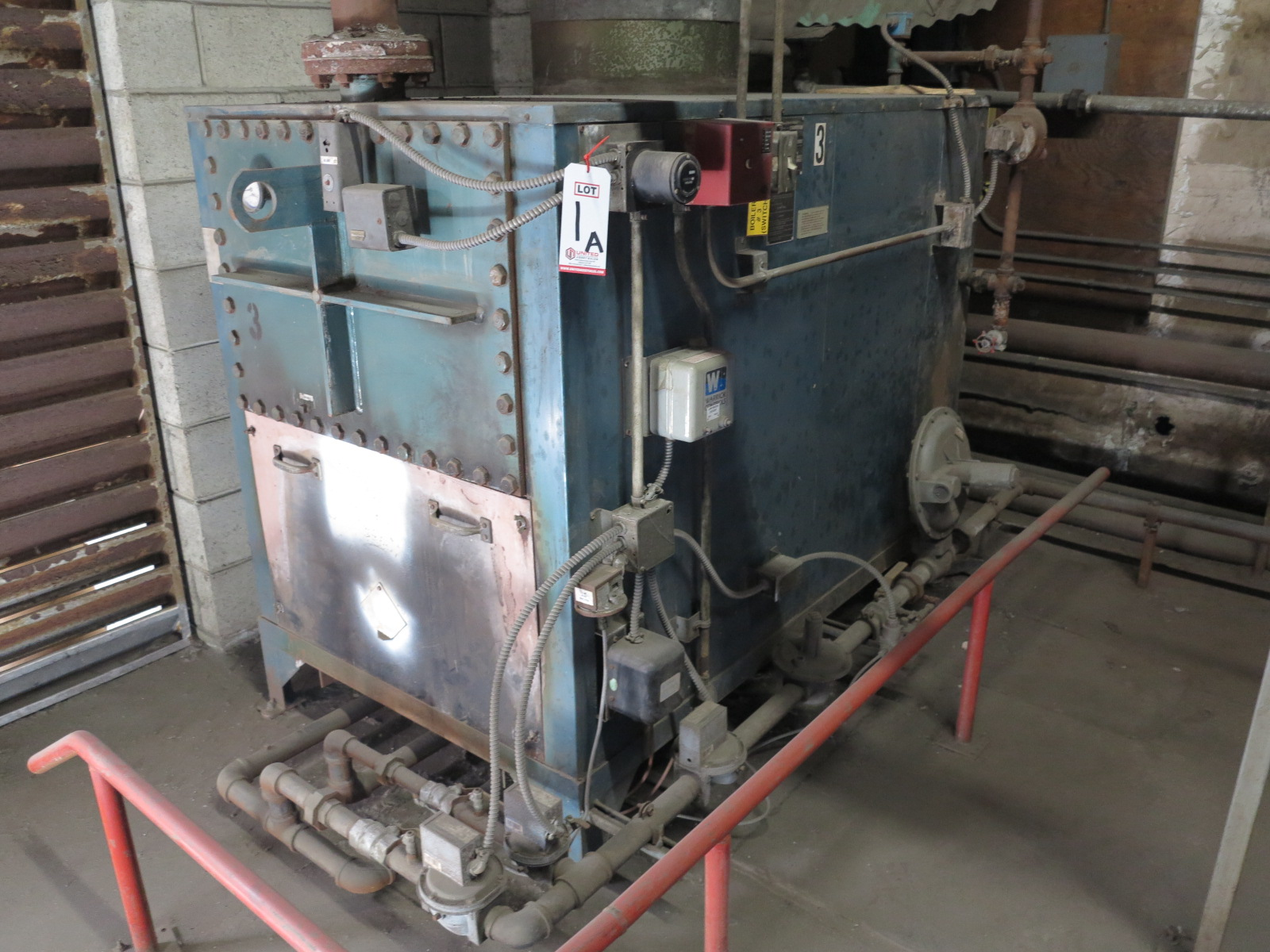 RITE GAS FIRED BOILER, NATURAL GAS