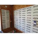 e 250 pairs of display spectacles inc Planet, OK, Visage, CAT, Superflex, GR8 Kids, Whiz Kids, Elite