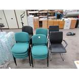 16 x waiting room chairs (assorted)