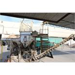1999 CEMENTECH MODEL SCD2-50, 30 YARD SKID MOUNTED PORTABLE CEMENT PLANT, S/N 2SCD15812EH, 2 CU YD