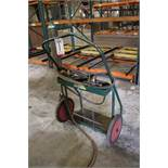 ANTHONY OXY-ACETYLENE TORCH CART W/ CUTTING TORCH AND REGULATORS (TANKS NOT INCLUDED)