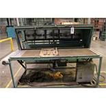 """TABLE TOP HEATED VACUUM PACKAGING MACHINE, VACUUM TABLE MEASURES 24"""" X 76"""""""