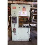 POWERMATIC VERTICAL BAND SAW, MODEL 87, S/N 67-7900
