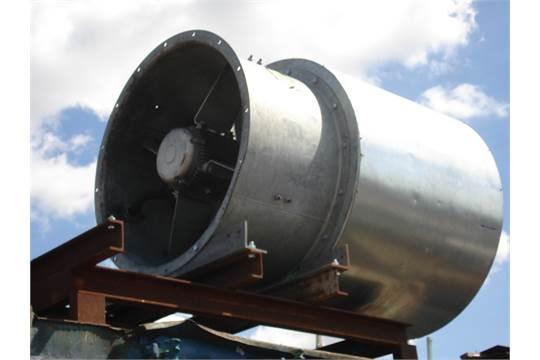 Flakt Woods Fan : Flakt woods large fan unit used in rail tunnel ventilation