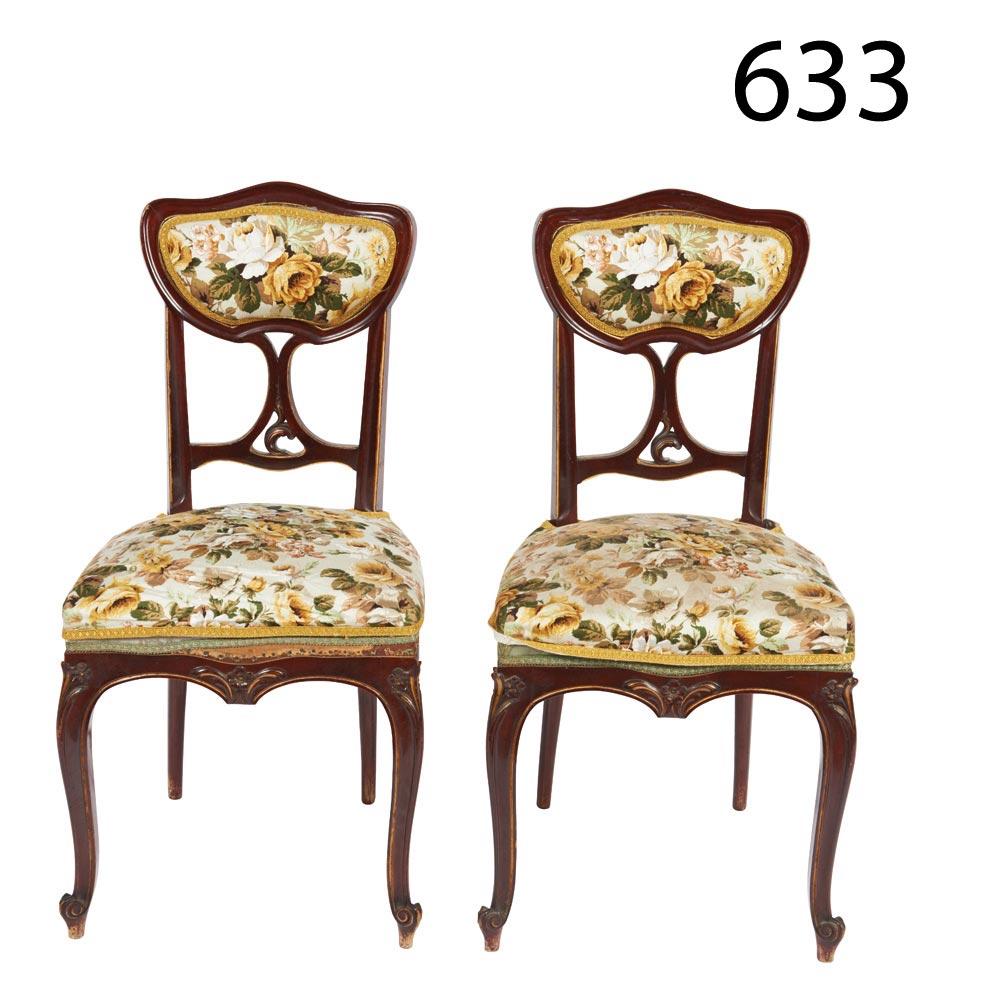 Pair Of Modernist Chairs Pareja De Sillas Modernistas En Madera  # Muebles Lado Cee