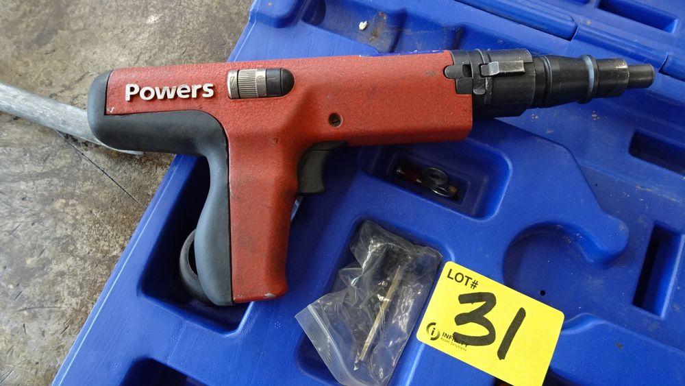 Lot 31 - POWERS PA3500 SHOT RIVET GUN C/W CASE