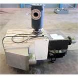 Oerlikon Leybold Sogevac SV630 (F) single stage, oil-selaed rotary vane vacuum pump. Serial #