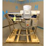 """Safeline S/S Metal Detector System, Model PPH / 18X03 / 55 / 100-300 / HD, SN 34196 with 16"""" W x 6"""