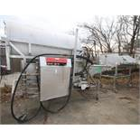"""Nothum S/S Drum Breader, Model NRP-40, SN 40751098, with 46"""" W x 6 ft L Drum with Hydraulic Drives &"""