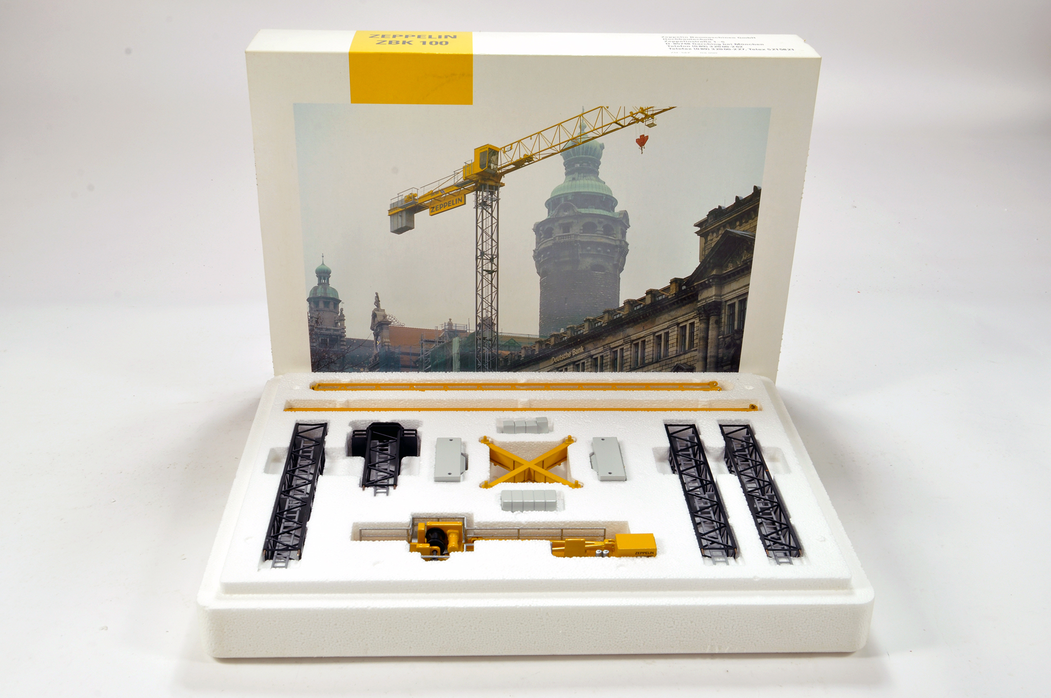 Lot 337 - Conrad 1/87 construction issue comprising Zepplin ZBK 100 Tower Crane. E to NM.