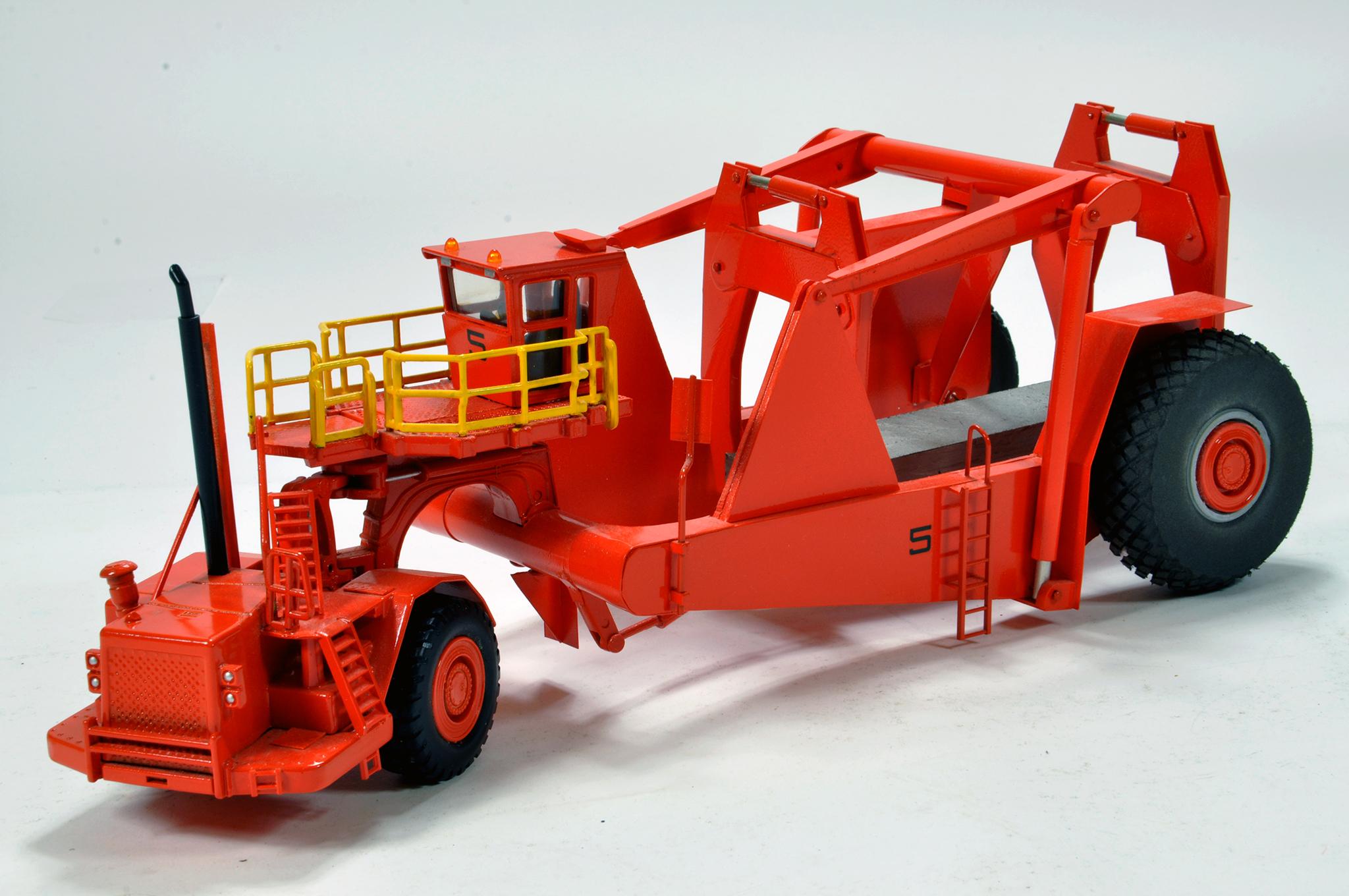 Lot 381 - Steelman (USA) 1/50 construction issue comprising Scratchbuilt Model of a Kress Type Slab Carrier as