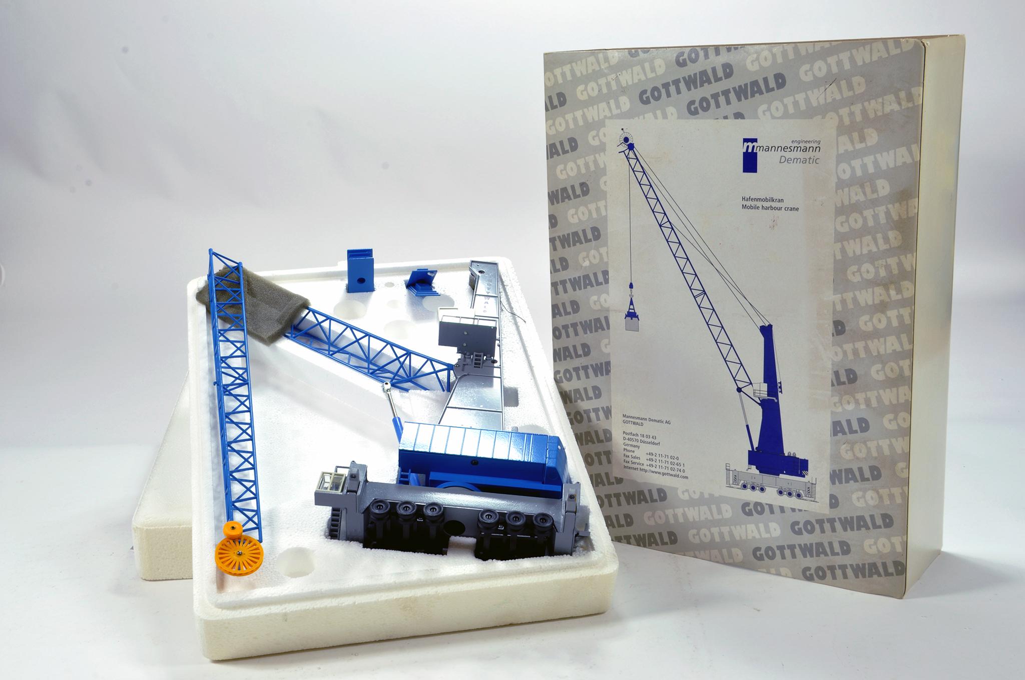 Lot 324 - Conrad 1/100 construction issue comprising Gottwald Harbour Crane. E to NM.