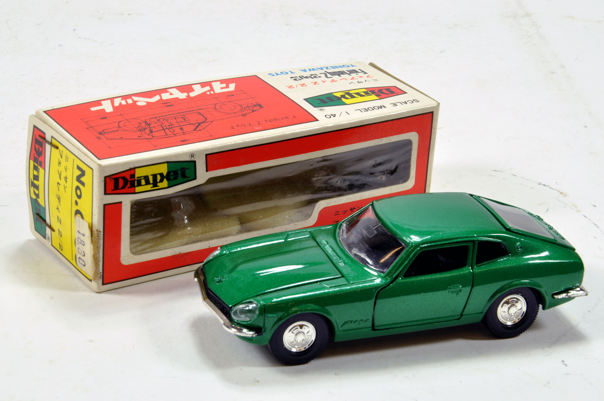 Lot 1352 - Diapet 1/40 diecast issue comprising No.1830 E to NM in Box.
