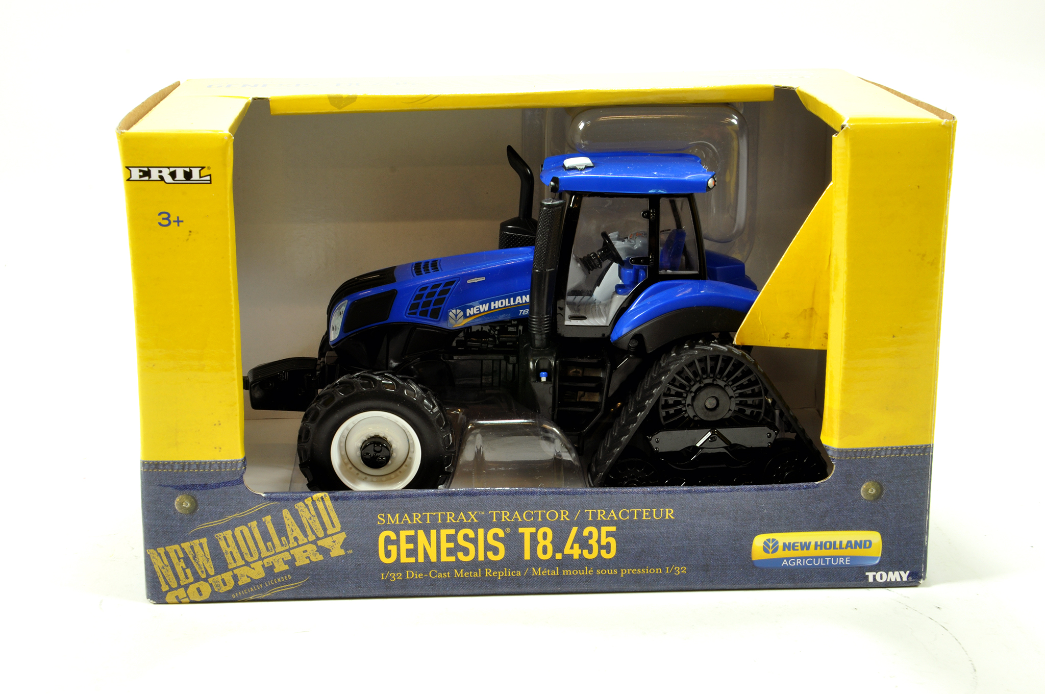 Lot 689 - Ertl 1/32 Farm Issue comprising New Holland T8.435 Smart Trax. E to NM with Box.