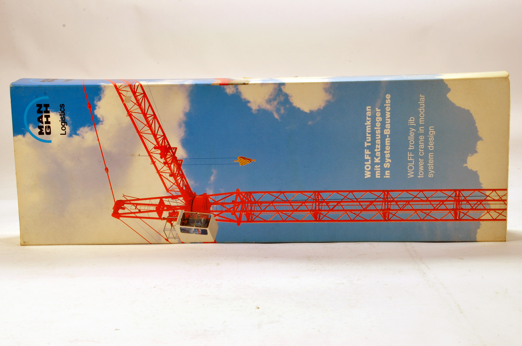 Lot 320 - Conrad 1/87 Construction issue comprising MAN Wolffkran Tower Crane. Generally E to NM.