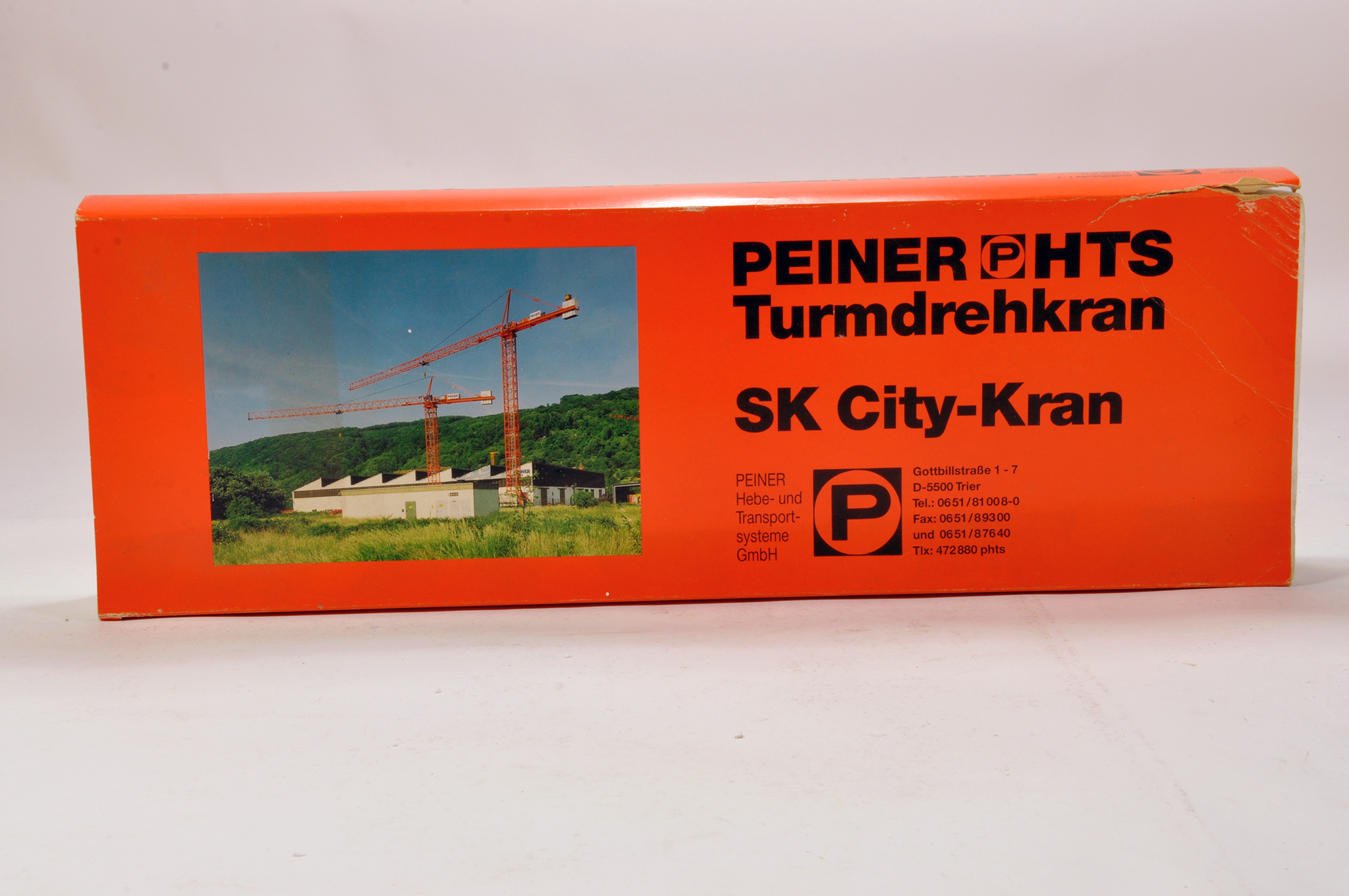Lot 319 - Conrad 1/87 construction issue comprising HTS Peiner SK Tower Crane. E to NM.