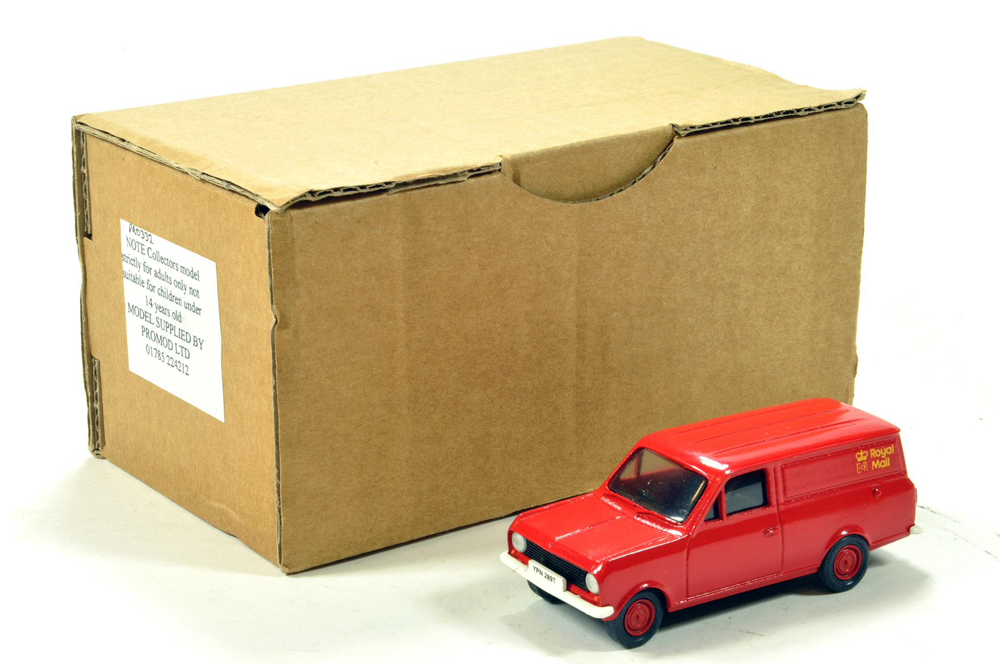 Promod 1/50 commercial issue comprising Royal Mail Van. E to NM.