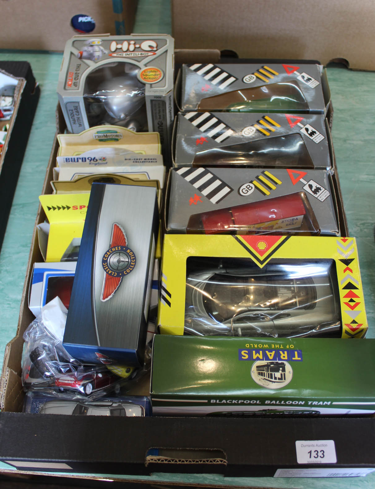 Lot 133 - Mainly boxed models,