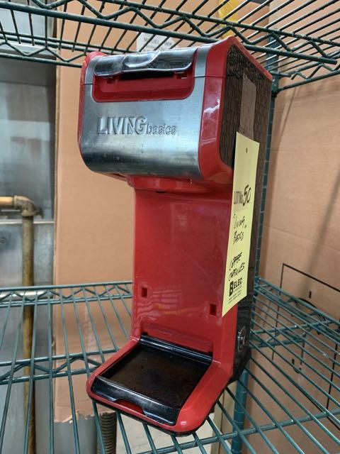 Machine à café capsules - LIVING BASICS