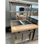 """Table à vapeur MKE #SP-ESP - neuve- a/ Tablette chauffante 33 x 32"""""""