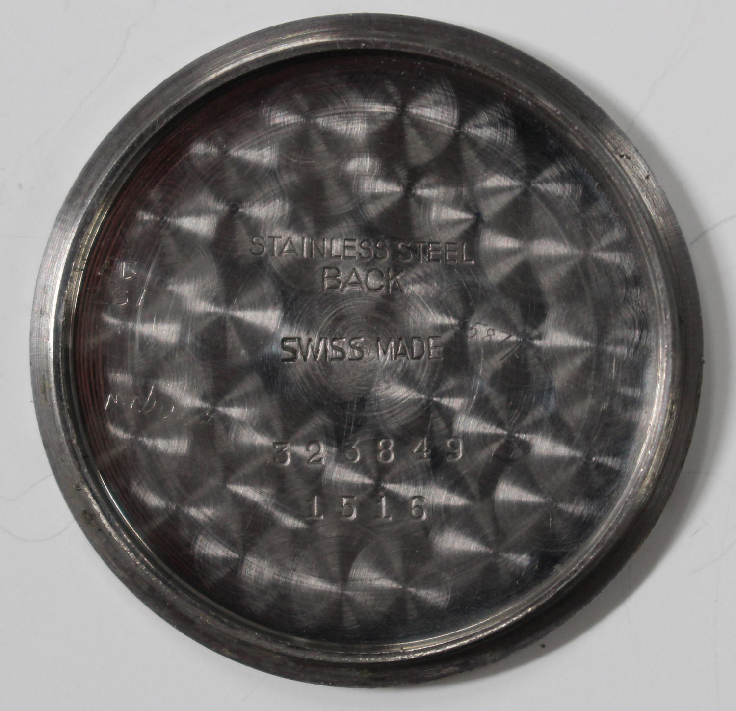 Lot 1041 - A Grana MoD issue steel cased gentleman's wristwatch, reissued for RAF ground crew, with jewelled