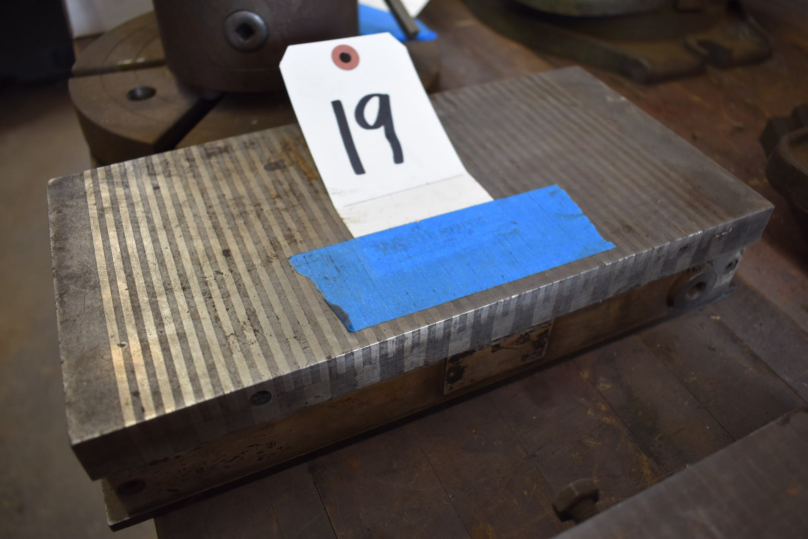 Lot 19 - 6 in. x 12 in. Magnetic Chuck