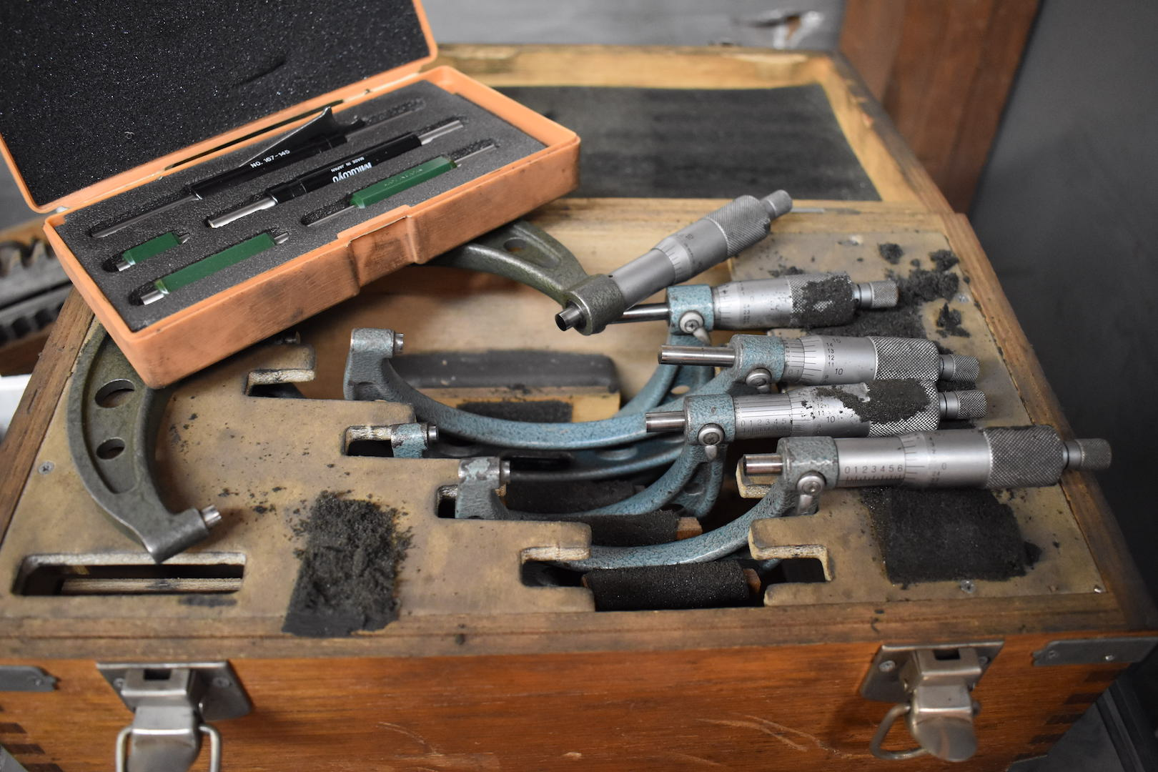 Lot 45 - LOT: (5) Assorted Micrometers, 2 in. - 5 in.