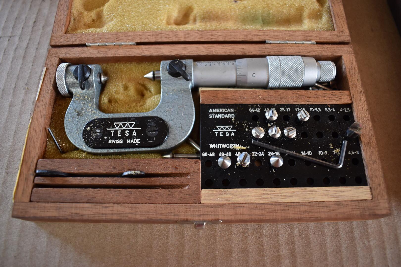 Lot 46 - Tesa 0 - 1 in. Micrometer