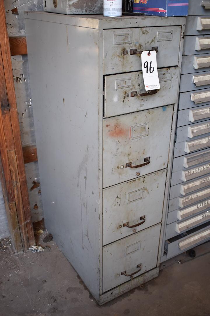 Lot 96 - File Cabinet (no contents)
