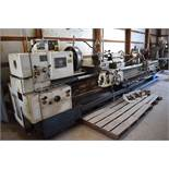Tos/Trens Trencin 28 in. x 165 in. (approx.) Model SN71C Gap Bed Engine Lathe, S/N 07 71 40 98