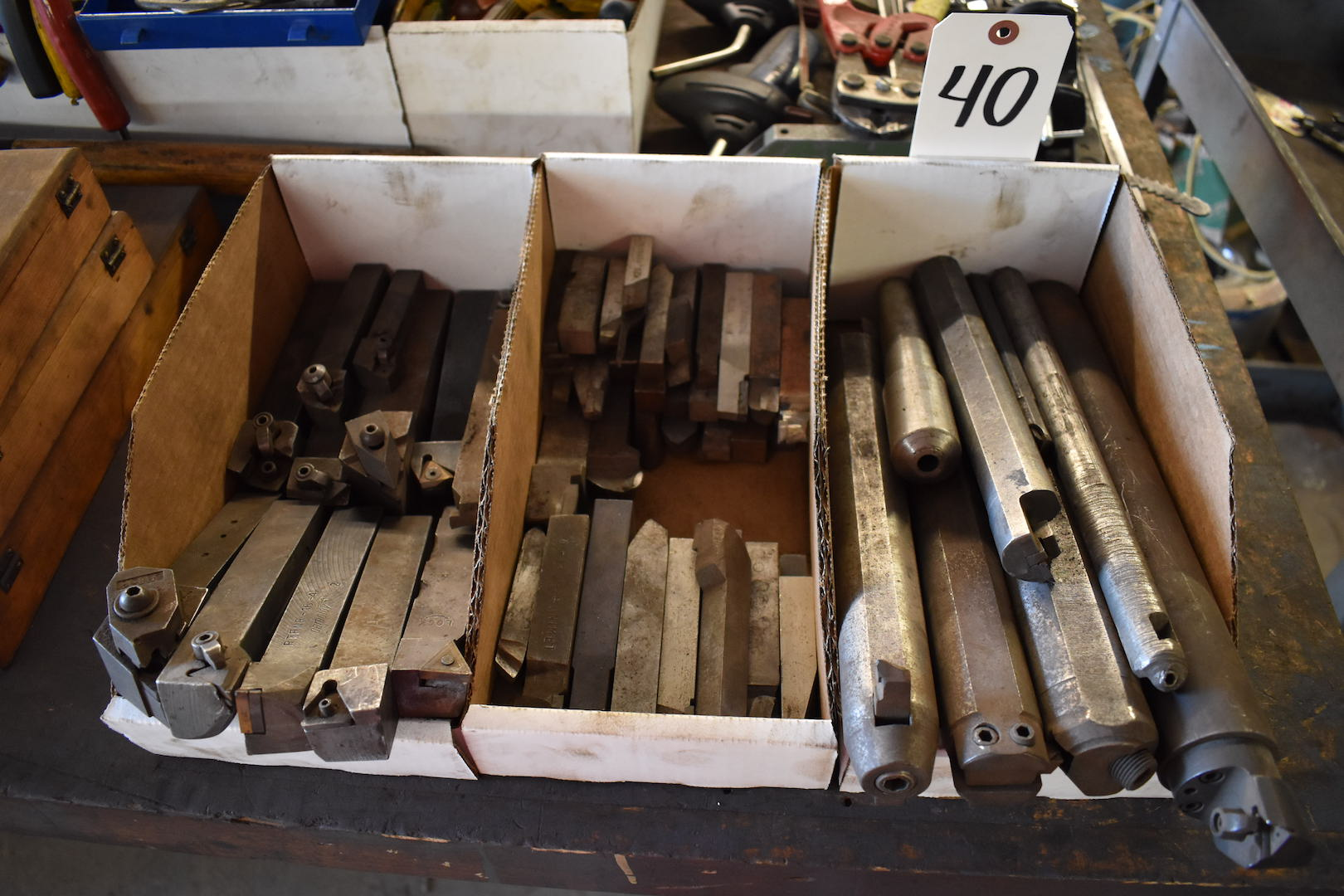 Lot 40 - LOT: Assorted Boring Bars in (3) Boxes