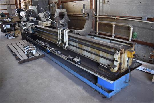 Thread and feed chart in inhes for TOS TRENCIN SN 71 Lathe