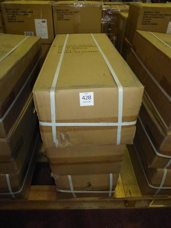 Lot 68 - 150 Pieces (3 Boxes) Bright Ideas Diamond Hole Saws