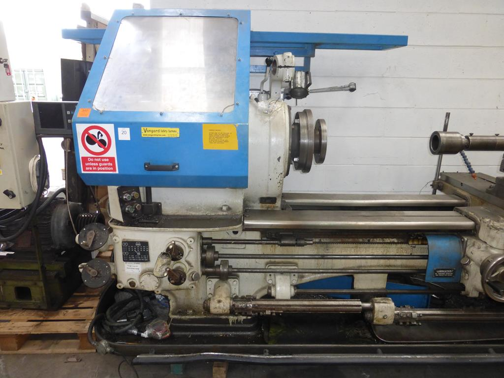 Lot 20 - Ward 10/13 Combination Turret Lathe Swing Over Bed