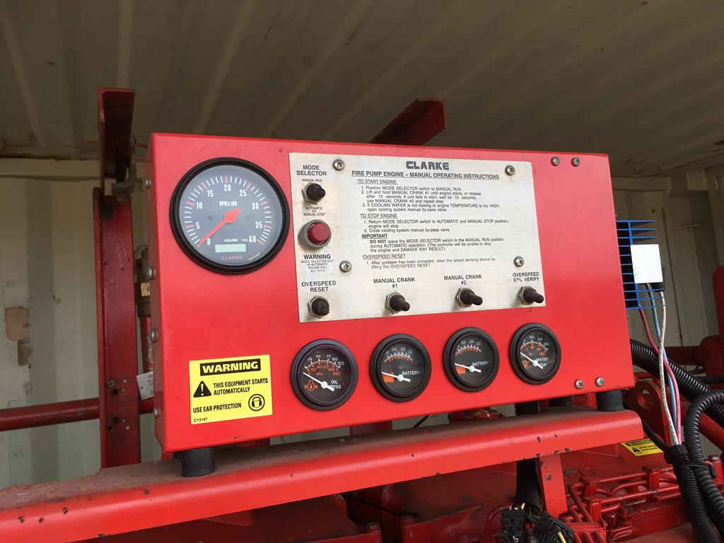 Lot 21 - Iveco 423hp High Volume Fire Pump.