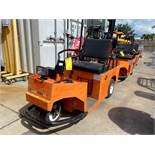 COLUMBIA ELECTRIC SHOP CART, BUILT IN BATTERY CHARGER, RUNS AND OPERATES