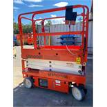 SNORKEL S1930E ELECTRIC SCISSOR LIFT, BUILT IN BATTERY CHARGER, 19' HEIGHT CAPACITY, SELF PROPELLED