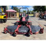 TORO GROUND MASTER COMMERCIAL DIESEL MOWER MODEL 455-D, 10' MOWING WIDTH, RUNS AND OPERATES